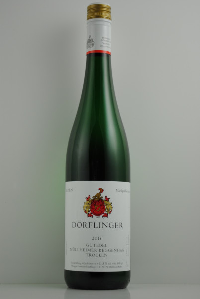 2019 Gutedel Müllheimer Reggenhag QbA trocken, Dörflinger